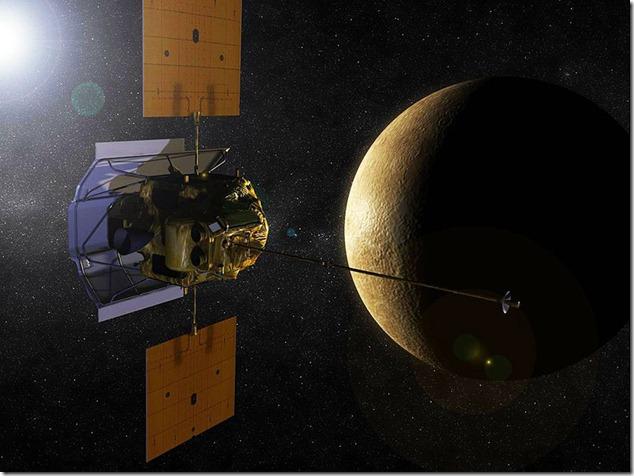 mercurio sonda messenger