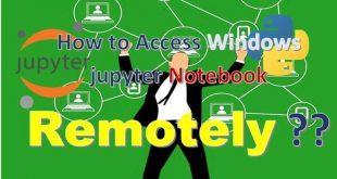configuracion acceso remoto jupyter notebook